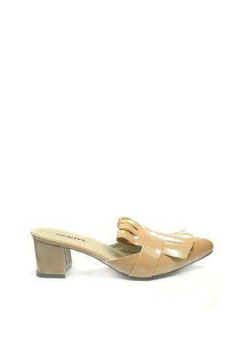 Beauty Shoes brown Beauty Shoes 1274 Celia Heels Camel 9601CSH3D5E10BGS_1