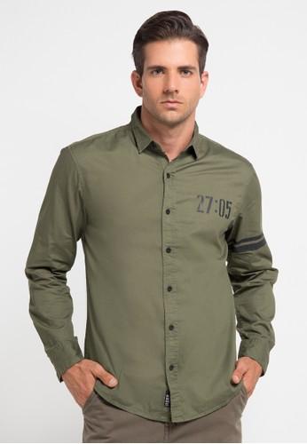 Bombboogie green Skyhawk Shirt BO419AA0V71XID_1