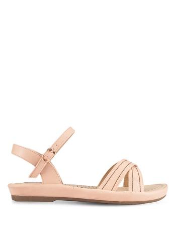 Alfio Raldo pink Strappy Sandals AL803SH0R9PNMY_1