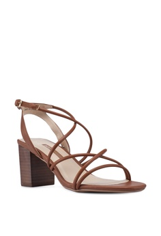 0035900eddd Dorothy Perkins Tan Saigon Block Heels RM 199.00. Sizes 3 4 5 6 7