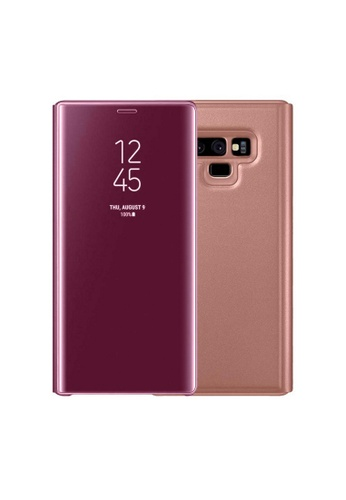 detailed pictures 0cb63 1fd57 Clear Flip View Standing Cover for Samsung Galaxy Note 9