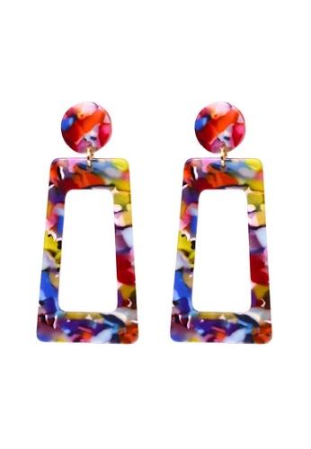 Glamorbit multi Multi-colour Statement Earrings 0F97EAC27ED2C3GS_1