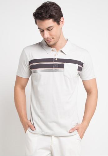 Quiksilver multi and grey Dabawyid Polo Shirt DE0E2AAE534D1CGS_1