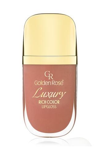 GOLDEN ROSE orange Luxury Lip Gloss - 06 GO743BE03DVOMY_1