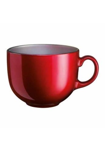 Luminarc Luminarc 0.5L Flashy Breakfast Jumbo Mug - Red 606CFHLE7862CAGS_1