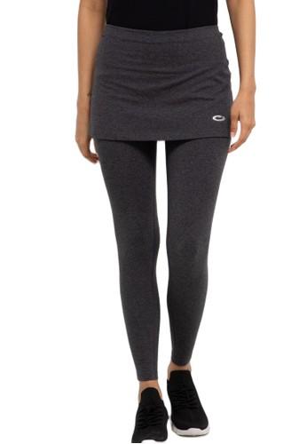 Opelon grey Opelon Celana Olahraga Wanita - Legging Rok 7757AAA70AE53CGS_1