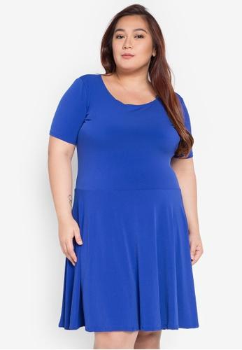 Lulu blue Plus Size Jing Dress LU439AA0K2NTPH_1