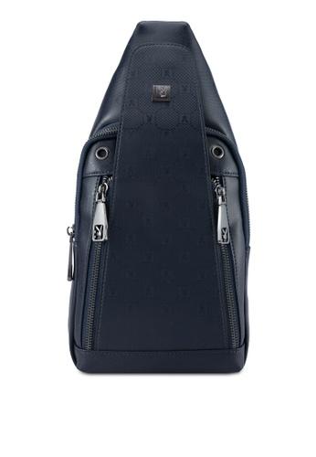 Playboy blue Playboy Chest Bag PL371AC0SK1WMY_1