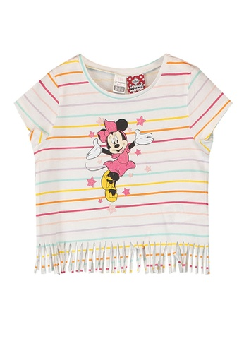 LC Waikiki white Baby Girl's Minnie Mouse Printed T-Shirt 09D38KAC4A3706GS_1