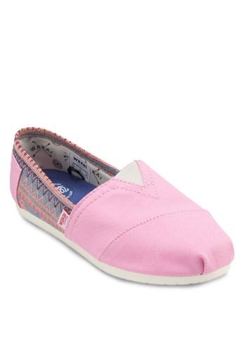 Jalieza 民族風針織esprit 價位懶人鞋, 女鞋, 休閒鞋