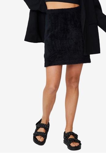 Cotton On black Super Luxe Mini Skirt 52D99AA4B2717EGS_1