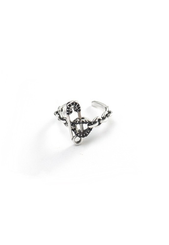 OrBeing white Premium S925 Sliver Geometric Ring 34459ACB171E6DGS_1