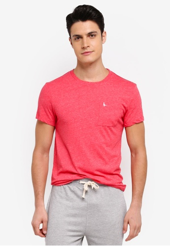 Jack Wills red Ayleford T-Shirt 65706AA26B3E05GS_1