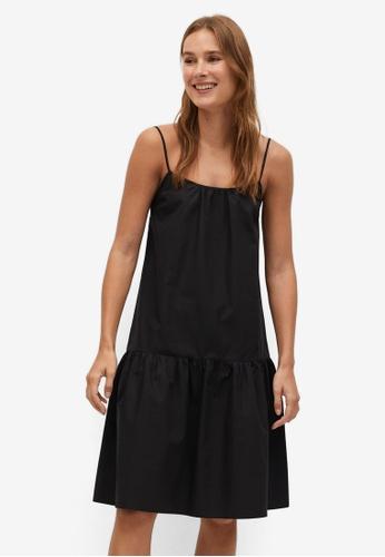 Mango black Casual Dress DEFC6AA5F8CF3CGS_1