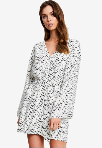 Tussah white Dallas Mini Dress C8405AA5D31EF8GS_1