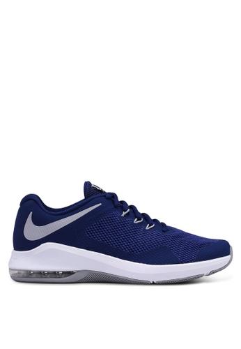 Nike blue Nike Air Max Alpha Trainer Shoes B7E66SH997D26BGS_1