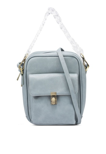 niko and ... blue Plain Crossbody Bag 986A2AC52D5048GS_1