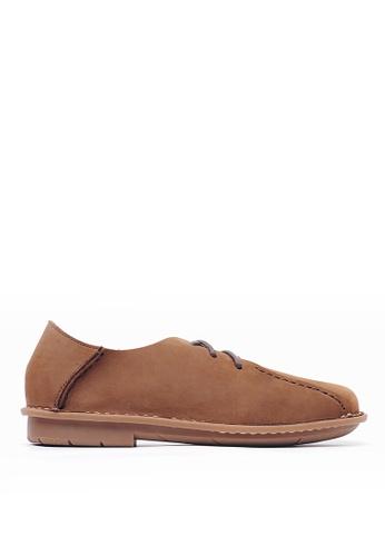 Life8 brown Men Slip-on Leather Casual Shoes-09727-Brown LI283SH0GP85SG_1