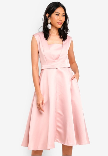Megane pink Doreen Bridesmaid Dress D1719AA0FF0994GS_1