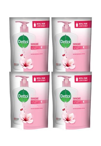 DETTOL Dettol Sabun Cuci Tangan Skincare 200ml x 4pcs Refill BE0C0ESC2DB585GS_1