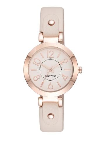 Nine West gold NW1712PKRG0000 Analog Watch B763AAC41C8127GS_1
