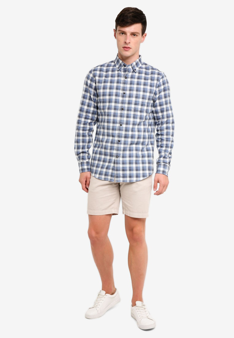 Multi Shirt Light Blue Republic Banana Gingham rTxArB