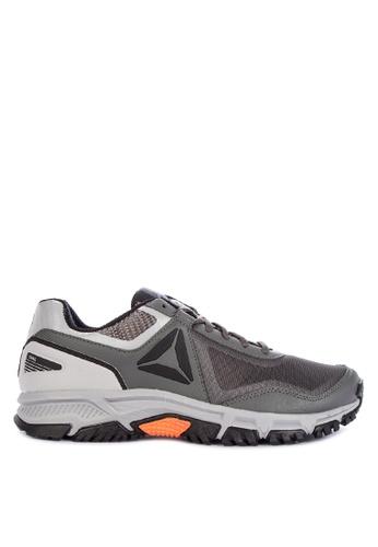 Reebok grey and multi Ridgerider Trail 3.0 Trail Shoes 7BB86SH7E7069DGS_1