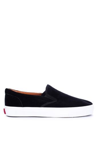 H2Ocean black Calogero Sneakers Slip on 240EBSH062F93EGS_1