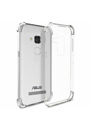 low priced f9f17 5ce81 Shockproof Silicone Clear Case for ASUS Zenfone 3 Max (ZC520TL)