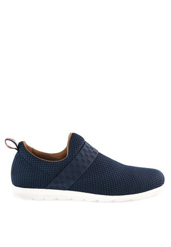 Sogno navy Sepatu Slip On Casual GHS 05 5F686SH4FB0666GS_1