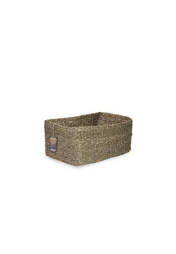 HOUZE ecoHOUZE Seagrass Storage Basket (Small) 5165DHL16256F8GS_1