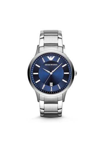 Emporio Armanesprit 工作i RENATO經典系列腕錶 AR2477, 錶類, 紳士錶