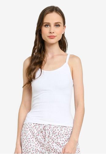 Cotton On Body white Vintage Rib Tank Top 11530AA4A0A3C0GS_1