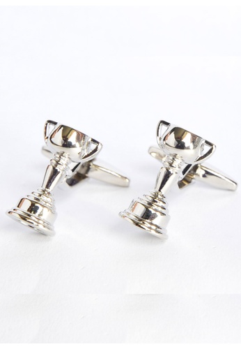 Splice Cufflinks silver Trophy Cufflinks for the cup winner! SP744AC47OLKSG_1