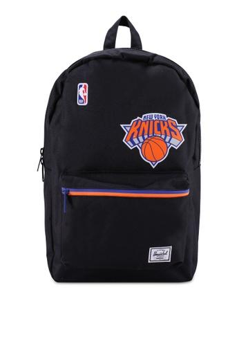 Herschel black Settlement Backpack (New York Knicks) 7587DAC2CDE335GS_1