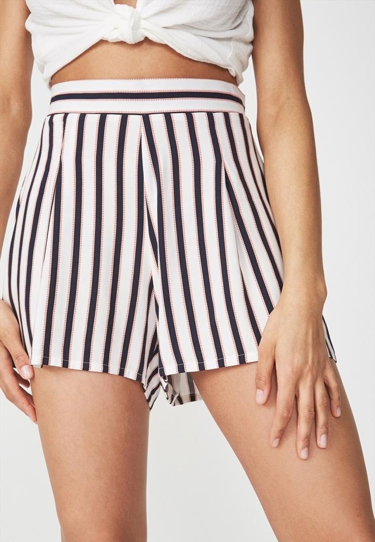 Flirty On Short Cotton White Maya qX1fww8