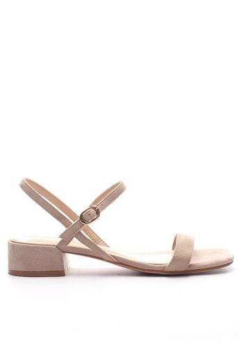Twenty Eight Shoes Strap Heel Sandal 3376-15 E39C6SH1DF8C84GS_1