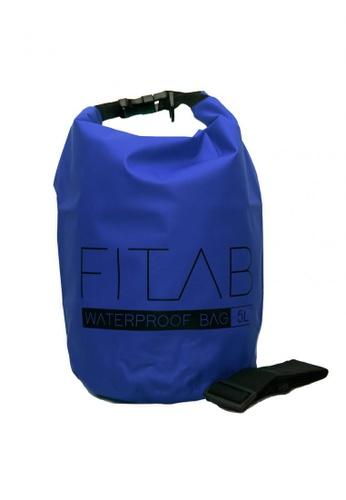 Fitlab blue 5L Waterproof Bag 1B951AC421DBE0GS_1
