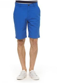 Chaps  Chaps Stretch Poplin Shorts