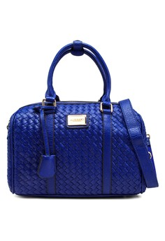 Classic Woven Top Handle Bag