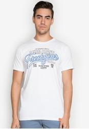 Freshgear white Cotton Jersey T-Shirt FR757AA0JPUFPH_1