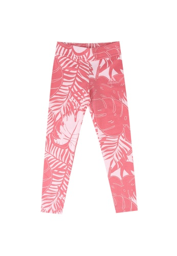 ADIDAS pink future icons graphic tights 0DD5CKAFFBD3CAGS_1