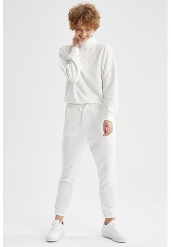 DeFacto beige Woman Knitted Trouser 441AFAA67215BDGS_1