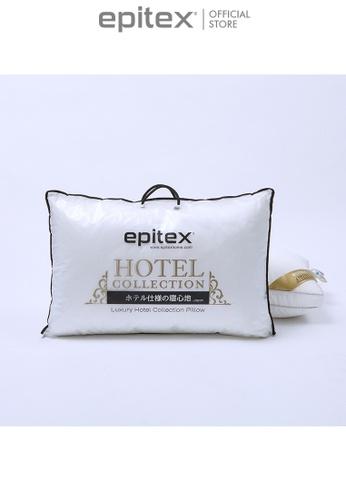 Epitex white Epitex Luxury Hotel Collection Pillow CBDD6HL3F877B9GS_1