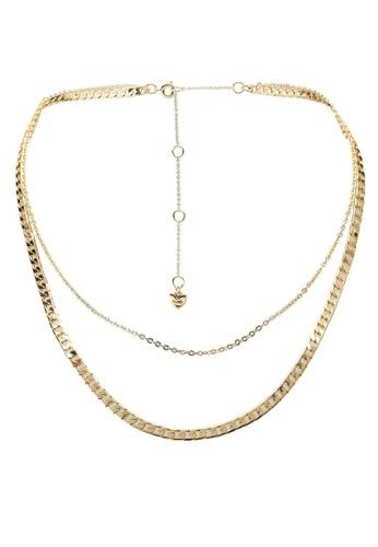 ALDO gold Anida Gold-Plated Necklace 2A50CAC658E4DEGS_1
