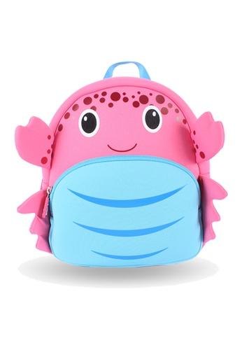 Nohoo pink Nohoo Kids Backpack Crab (Pink) F42C2KC6BEE6B9GS_1