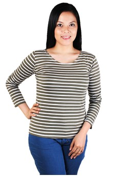 Ashley Long Sleeves Stripes