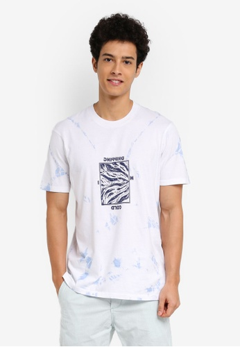 Cotton On white and blue TBar Tee 2C324AA6B983A3GS_1