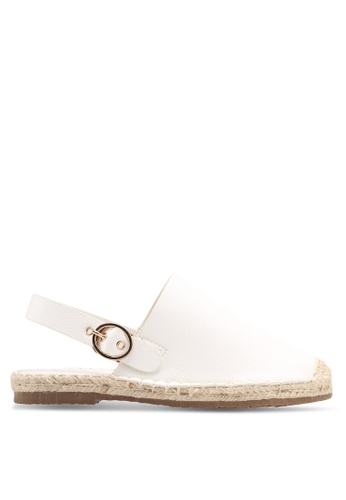 Something Borrowed white Faux Leather Espadrilles 7A677SHBAF69A1GS_1