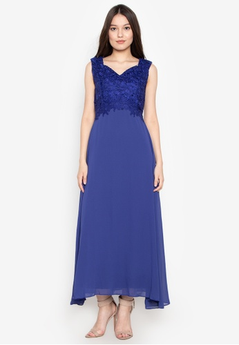 603a9519ef Shop Get Laud Sexy Maxi Dress Online on ZALORA Philippines